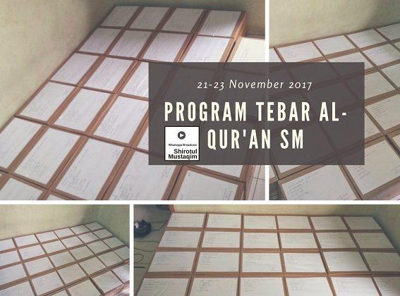 Program Tebar Al-Quran SM
