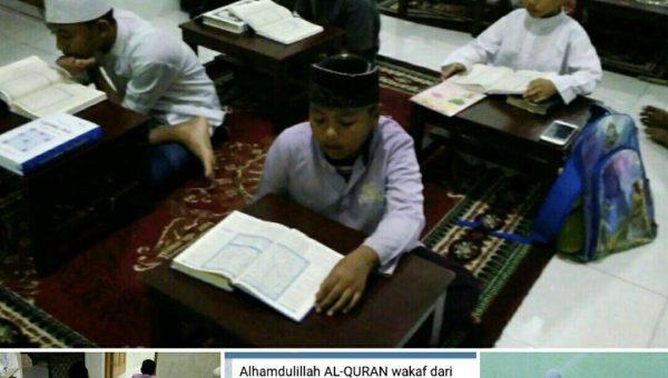 Mushaf Al-Qur'an untuk Rumah Tahfidz Al-Khair Batam