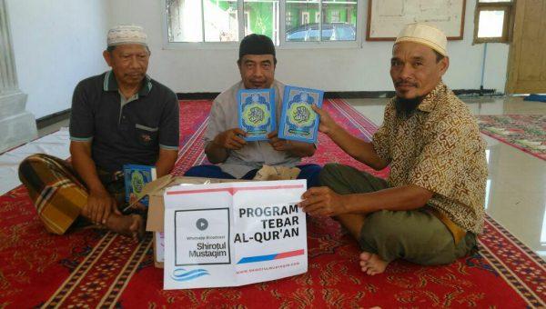 Tebar Al-Qur'an Musholla Darul Muhajirin Siak Riau