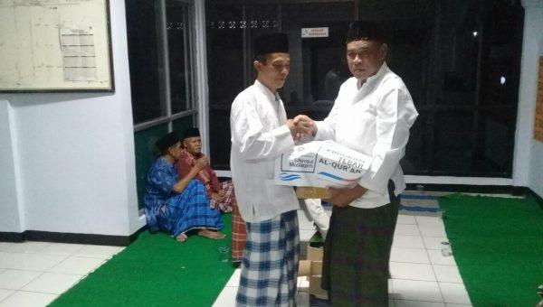 Tebar Al-Qur'an Masjid Nurul Iman Lebak Banten