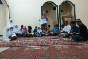 Tebar Al-Qur'an Masjid Al-Amin Gunungkidul Yogyakarta