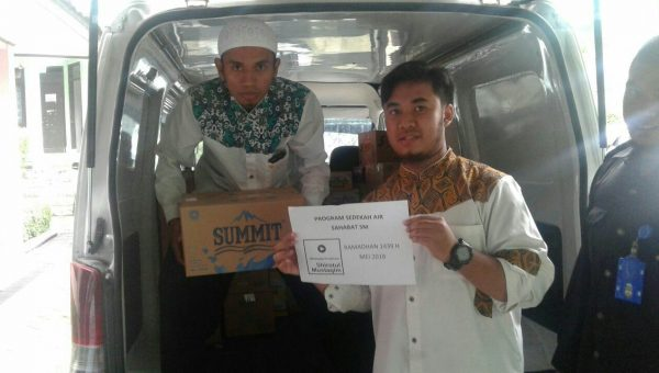 Info Distribusi Program Sedekah Air