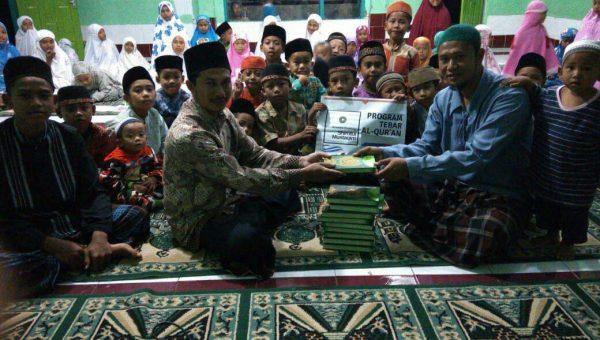 Penyaluran Mushaf Ke Pesantren Jamuluddin Lombok